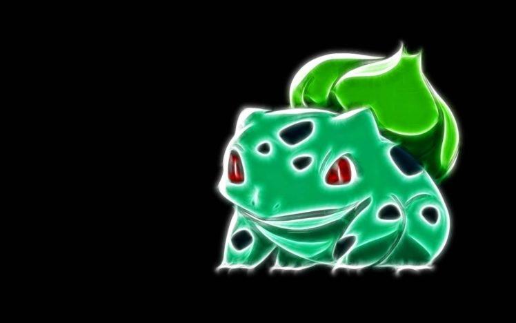 Pokemon, Fractalius, Bulbasaur HD Wallpaper Desktop Background