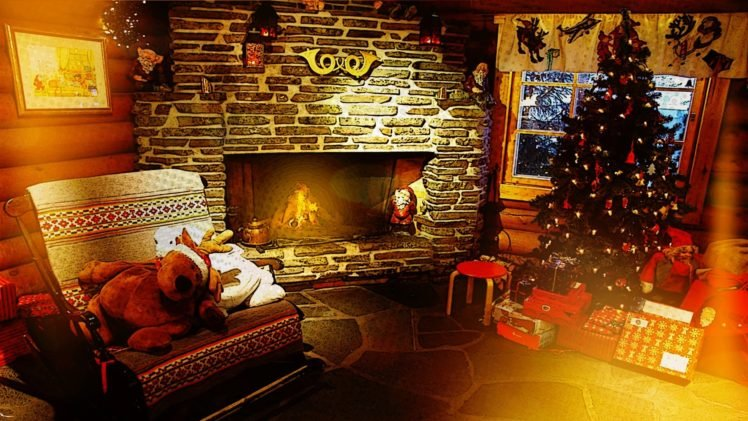 Lights Fireplace Hd Wallpapers Desktop And Mobile Images Photos