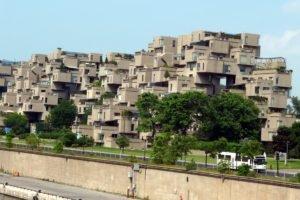 Habitat 67, Moshe Safdie, Expo 67, Montreal, Modular building, Building