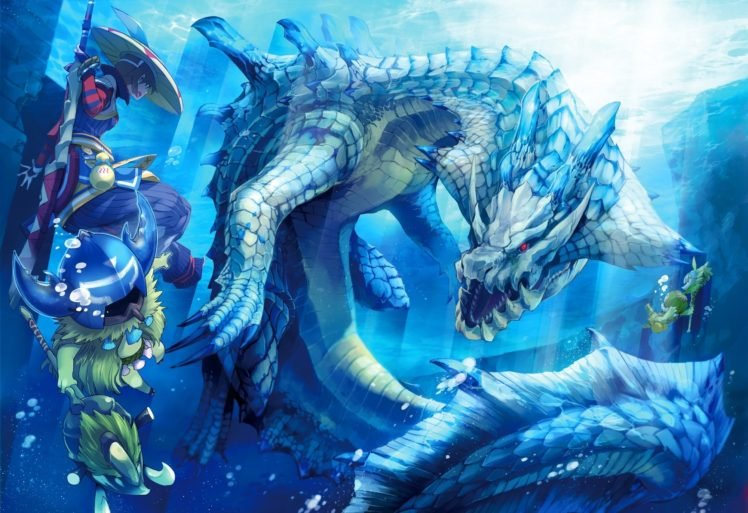 Monster Hunter Lagiacrus Kayamba Cha Cha Hd Wallpapers