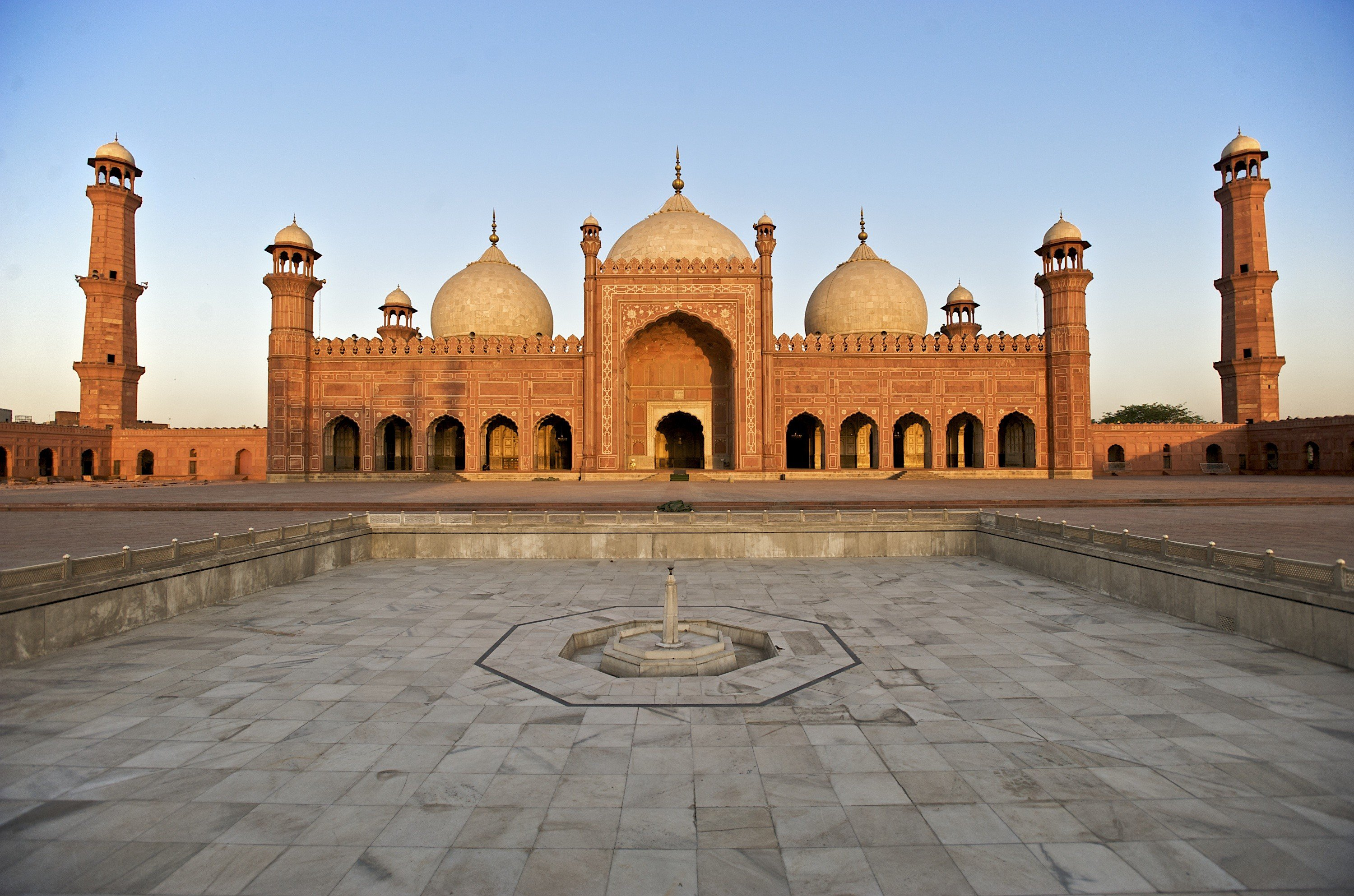 Beautiful Islamic Buildings Wallpapers: Mosques, Lahore, Pakistan, Architecture, Islamic