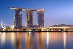 building, Reflection, Singapore