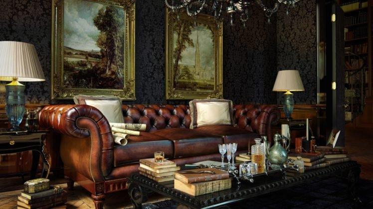 . living rooms  Interior design  Interiors  Books  Alcohol  Painting