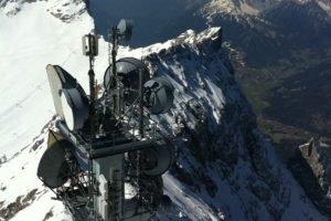 antenna, Mountain, Snow