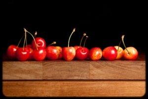 vignette, Cherries