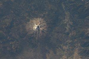 mountain, Mount Shasta, Aerial view