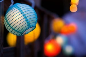 lantern, Lights, Depth of field, Decorations, Bokeh