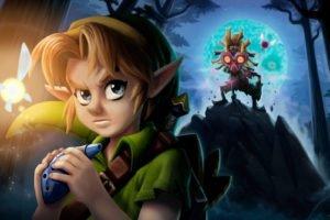 Zelda, The Legend of Zelda, The Legend of Zelda: Majoras Mask, Link
