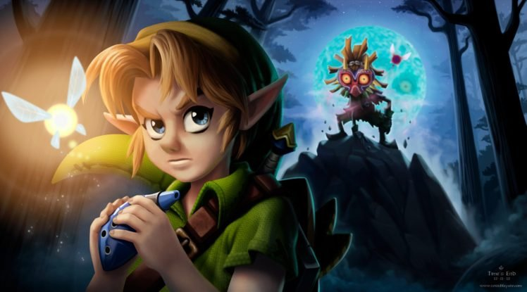 Zelda, The Legend of Zelda, The Legend of Zelda: Majoras Mask, Link HD Wallpaper Desktop Background