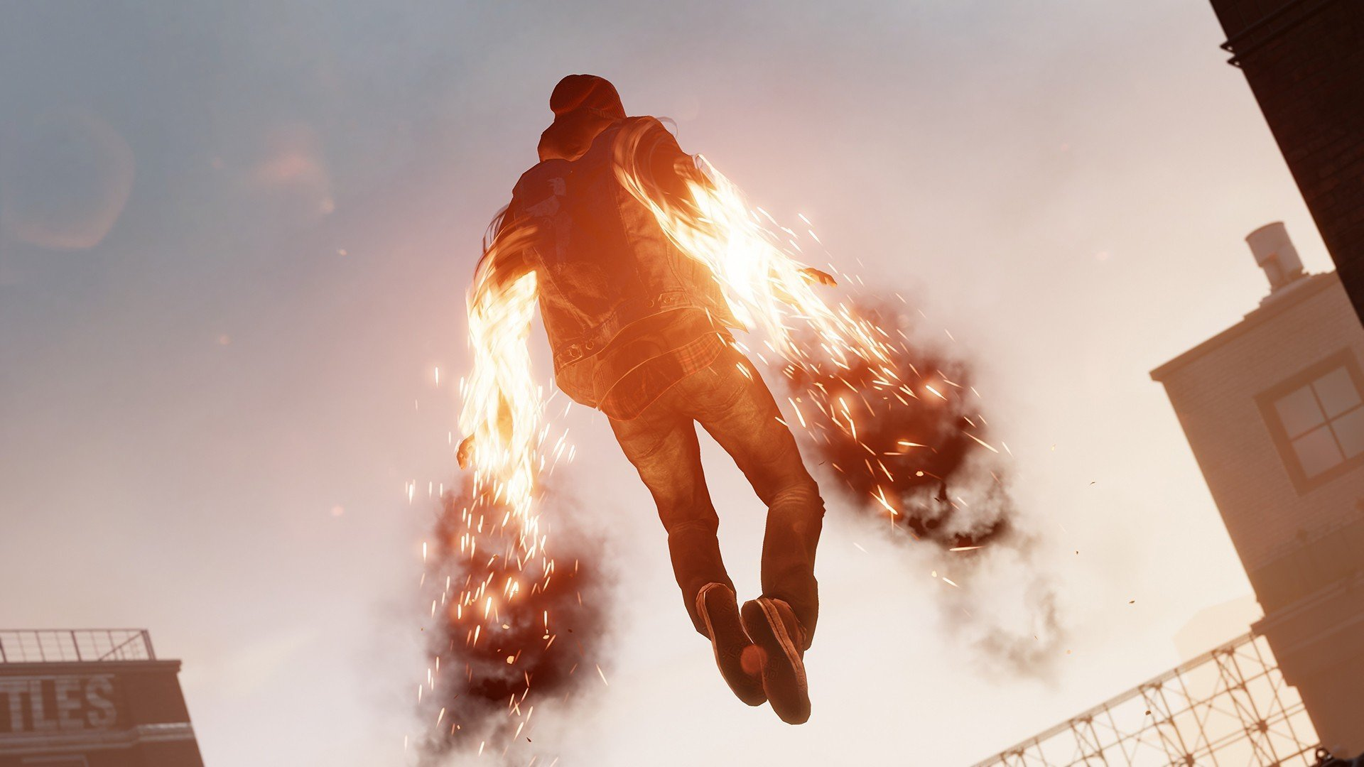Pc Gaming Infamous Second Son Hd Wallpapers Desktop And Mobile