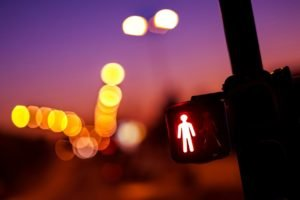 traffic lights, Signs, Bokeh, Blurred
