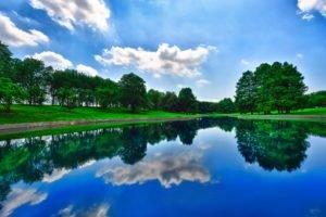 pond, Reflection
