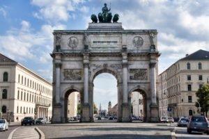 architecture, Munich, Triumphal Arch