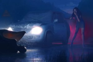 night, Creature, Devils