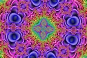 kaleidoscope, Fractal, Psychedelic