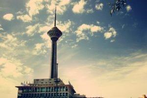 Iran, Tehran, City, Milad Tower, Tower