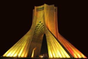 Iran, Tehran, City, Azadi Square