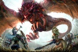 Rathalos, Monster Hunter, Wyvern