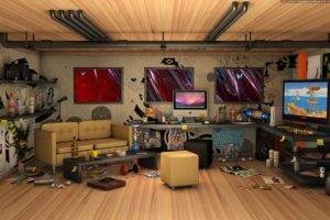 interiors, CGI