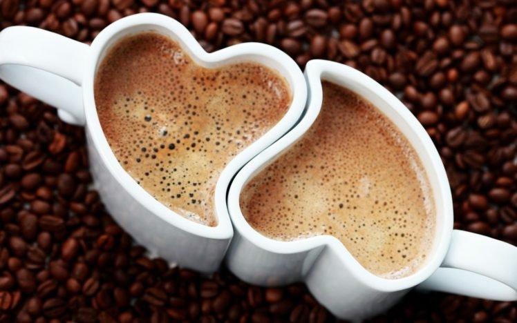 coffee, Drink, Coffee beans HD Wallpaper Desktop Background