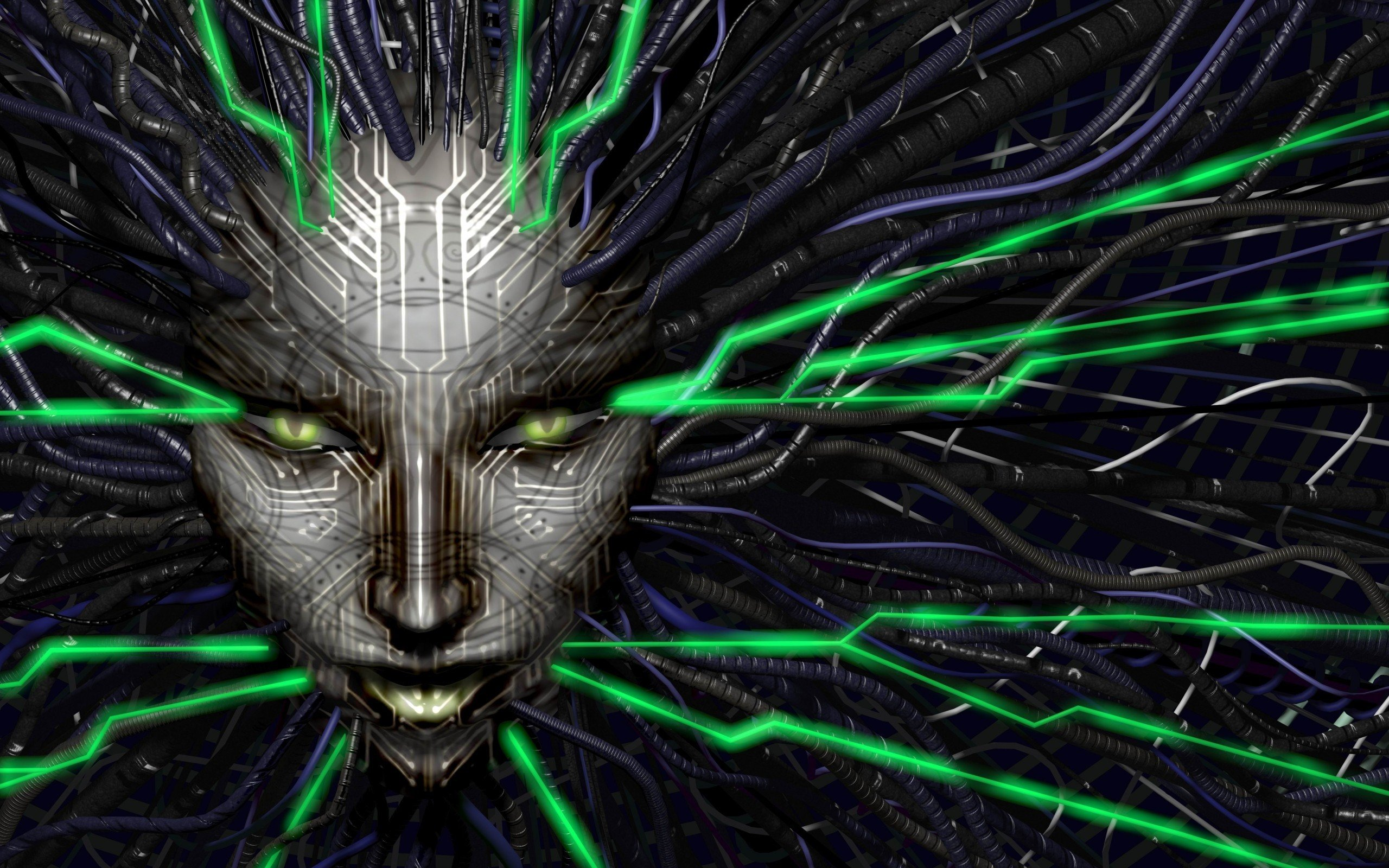 Circuits Electronics Hd Wallpapers Desktop And Mobile Images Photos Electronic Wallpaper 1920x1200 Arts Technology System Shock Shodan