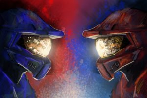 Red vs. Blue, Halo