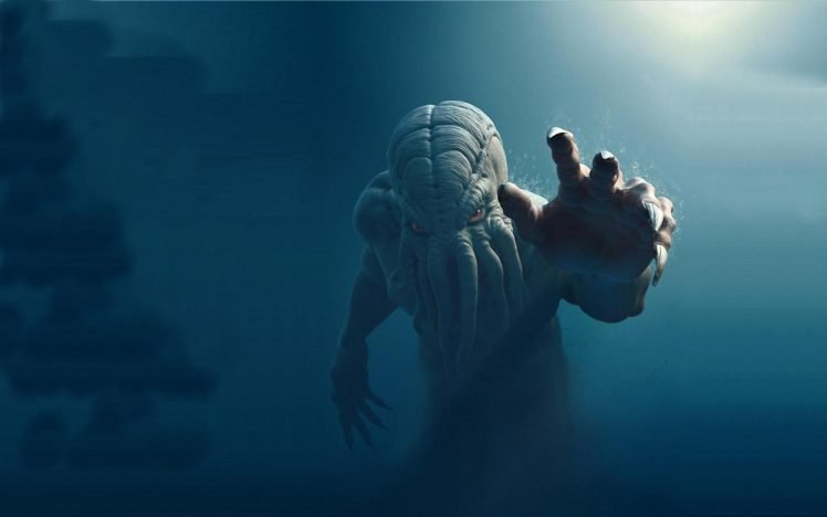 Creature Cthulhu H P Lovecraft Hd Wallpapers Desktop