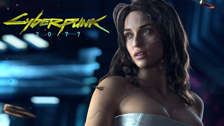 Cyberpunk 2077 HD Wallpaper Desktop Background