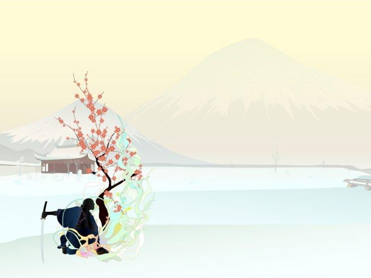 Simple Background Japan Samurai Katana Hd Wallpapers Desktop And Mobile Images Photos