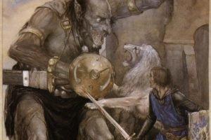 mythology, Alan Lee, The Mabinogion