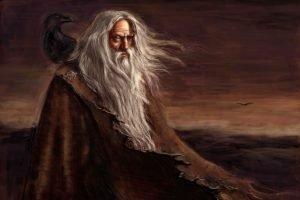 Vikings, Mythology, Odin, Huginn, Muninn
