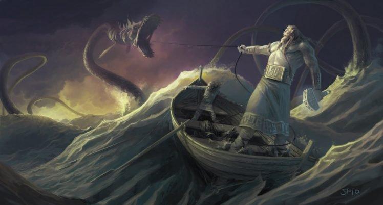 127680 Vikings mythology Thor Ragnar%C3%B6k