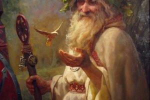 saint, Merlin, Wizard