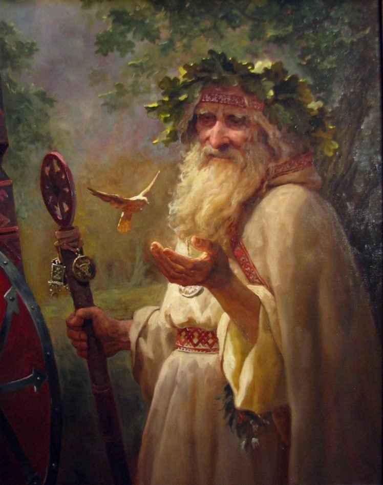 saint, Merlin, Wizard HD Wallpaper Desktop Background