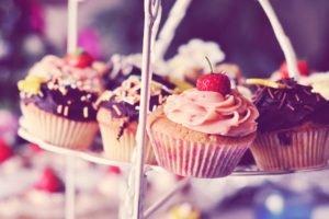 food, Cupcakes, Desserts