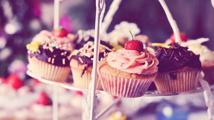 food, Cupcakes, Desserts HD Wallpaper Desktop Background