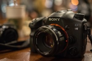 camera, Sony, Depth of field