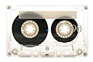 tape, White background
