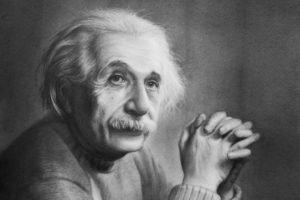 Albert Einstein, Monochrome
