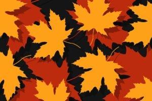 leaves, Maple leaves, Vectors