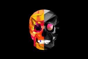 skull, Justin Maller, Black