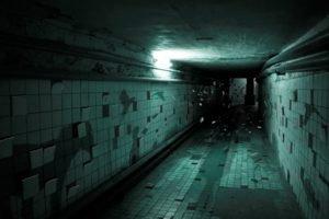 hallway, Shadow, Dark