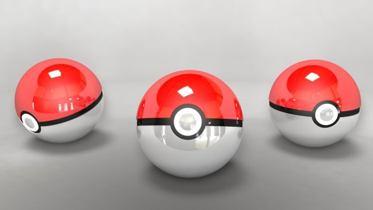 Pokemon, Pokéballs HD Wallpaper Desktop Background
