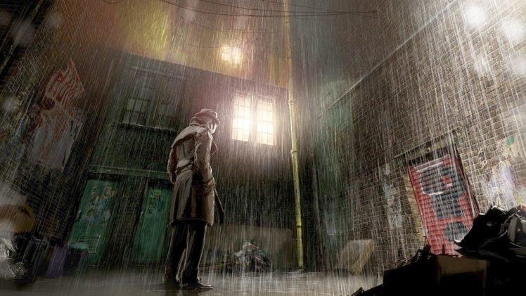 Rain, Watchmen HD Wallpapers / Desktop