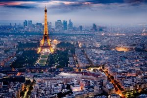 France, Paris, Eiffel Tower, City, Cityscape