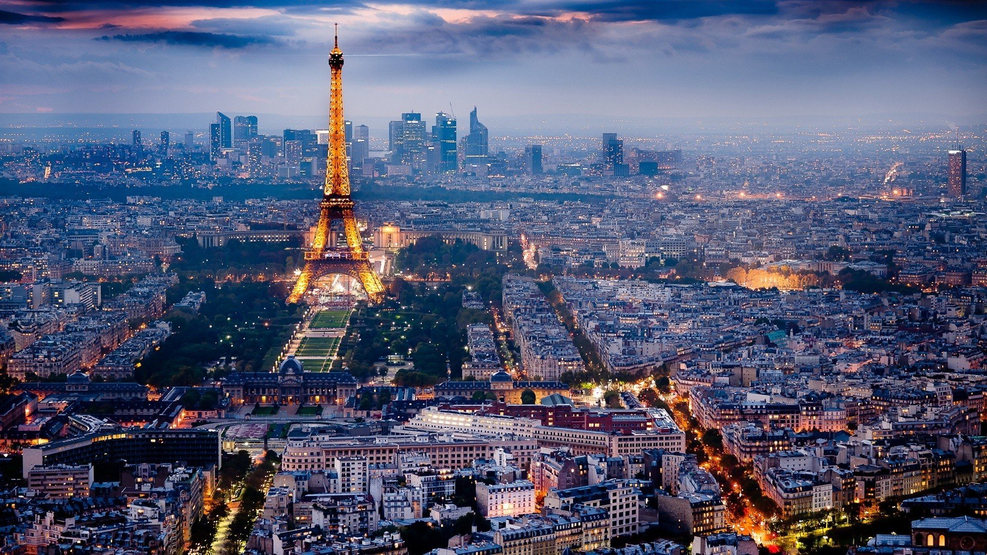 France Paris Eiffel Tower City Cityscape Hd Wallpapers Desktop And Mobile Images Photos