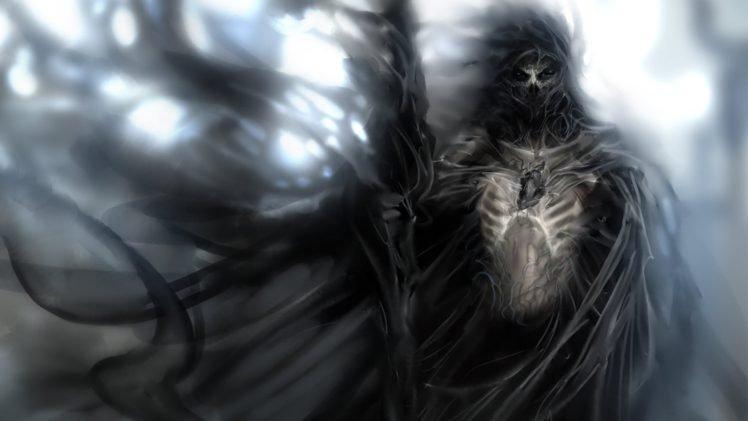 death, Hearts HD Wallpaper Desktop Background