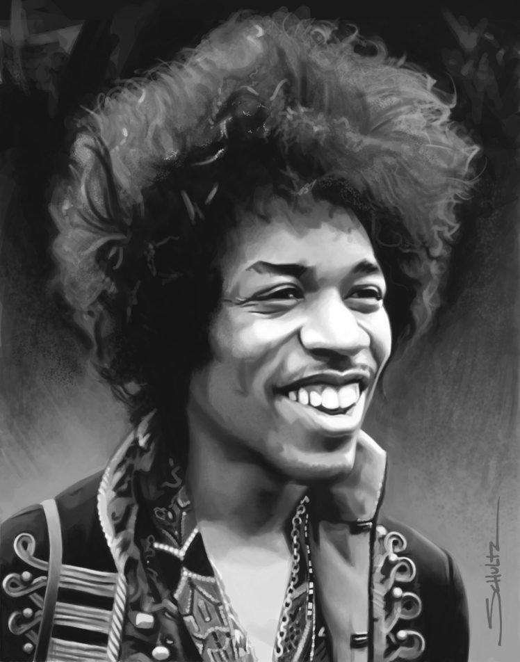 Jimi Hendrix HD Wallpaper Desktop Background