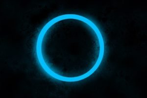 circle, Web design, Blue