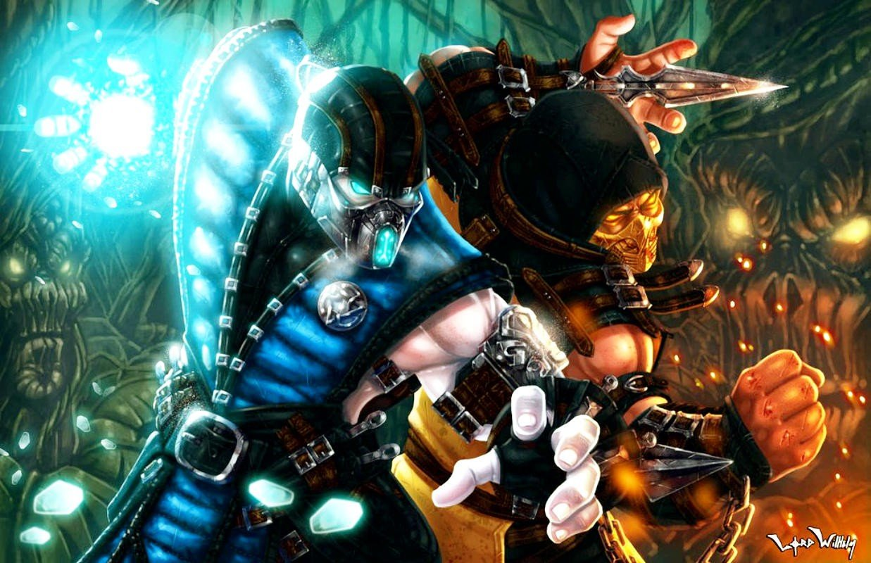 Mortal kombat sub zero scorpion character hd - Mortal kombat scorpion wallpaper ...